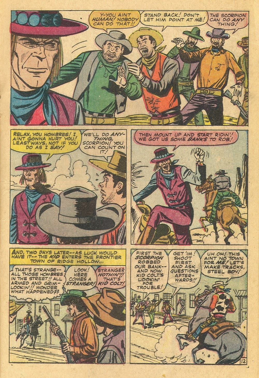 Kid Colt Outlaw issue 115 - Page 17