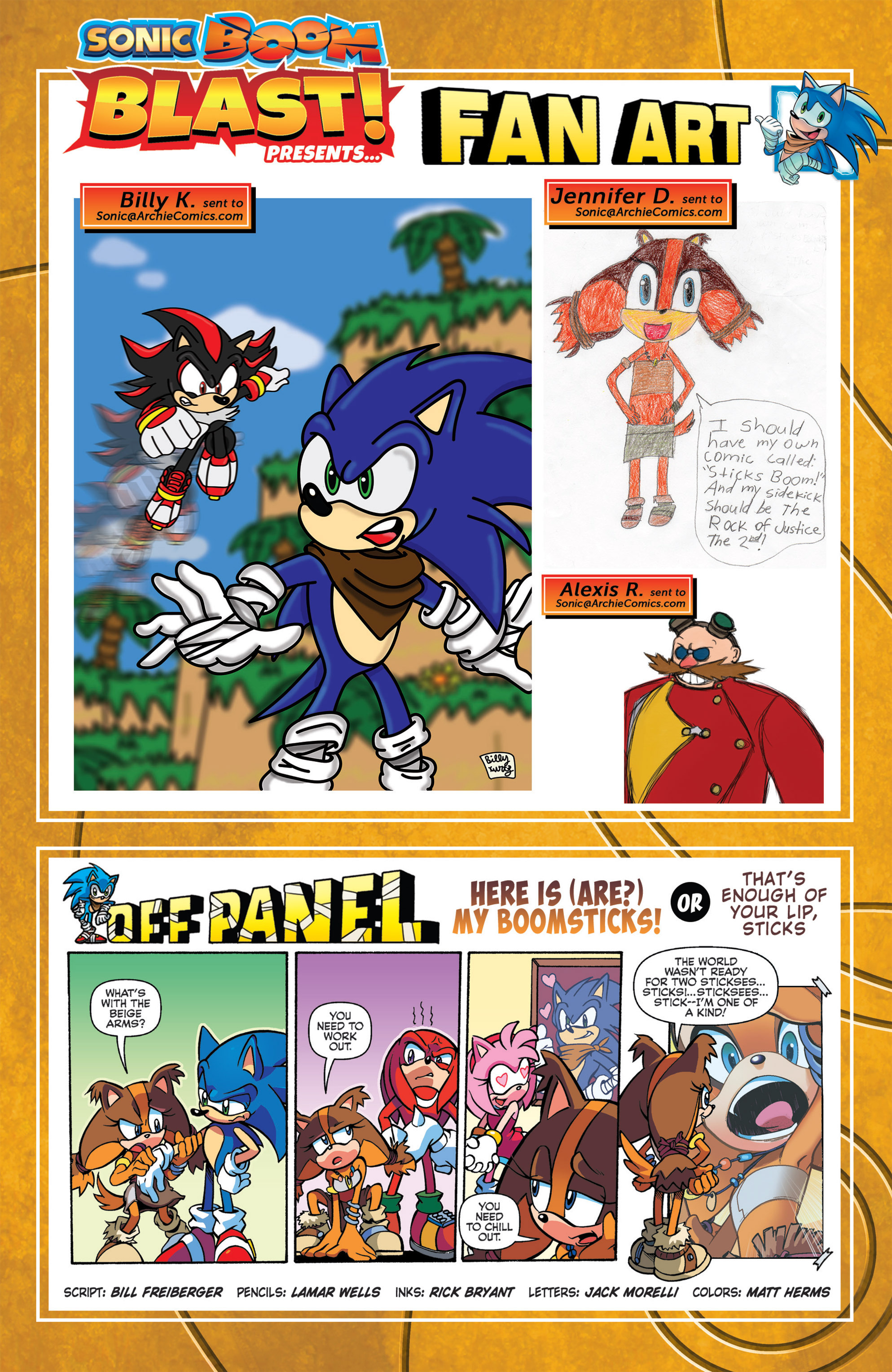 Read online Sonic Boom comic -  Issue #8 - 23