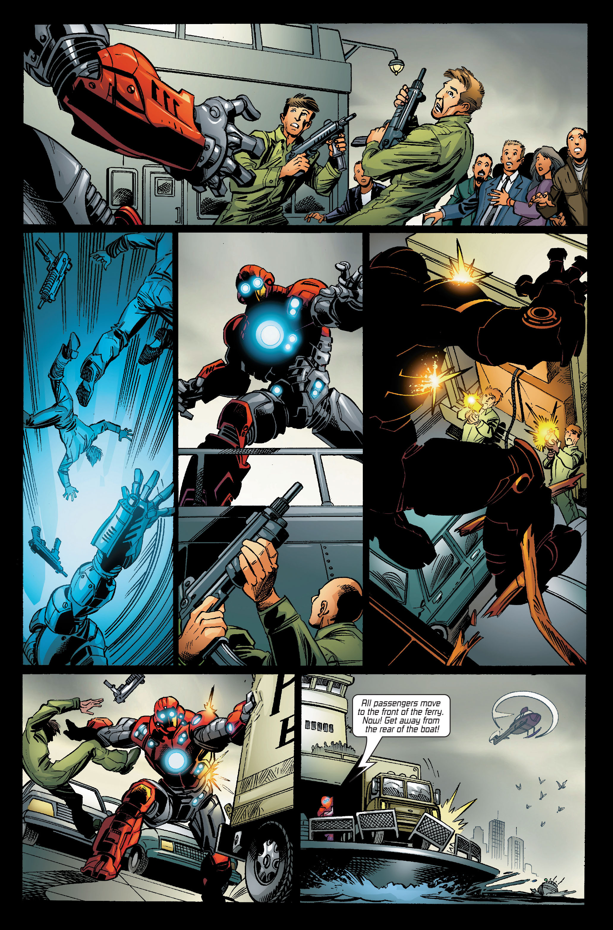 Read online Ultimate Iron Man (2005) comic -  Issue #5 - 21