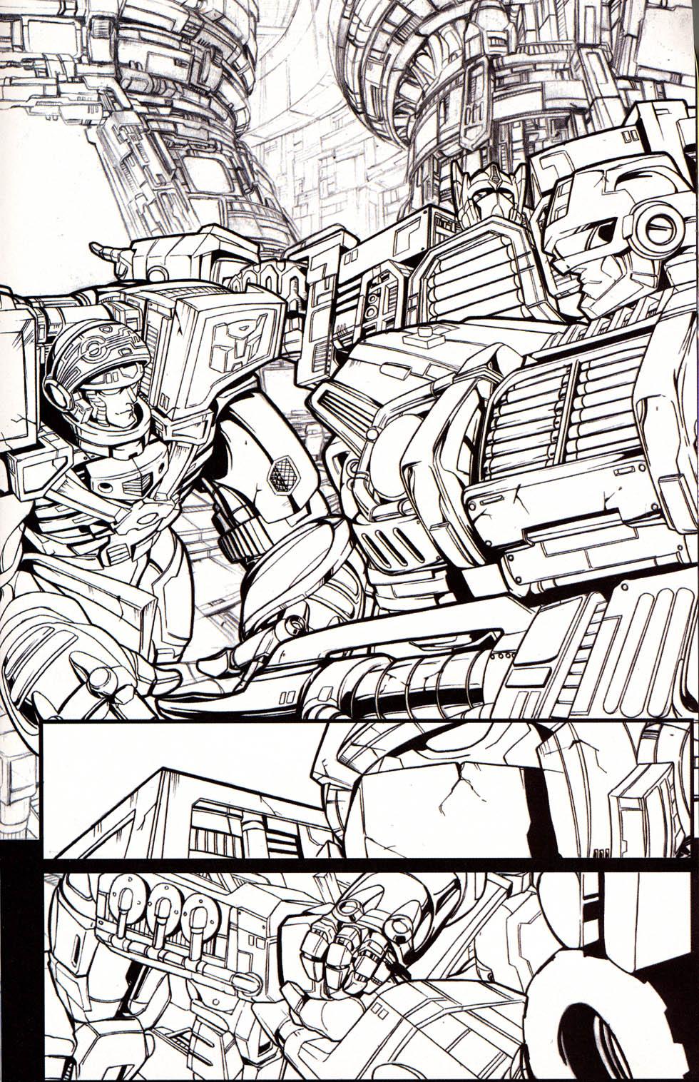 Read online Transformers Armada comic -  Issue #0 - 15