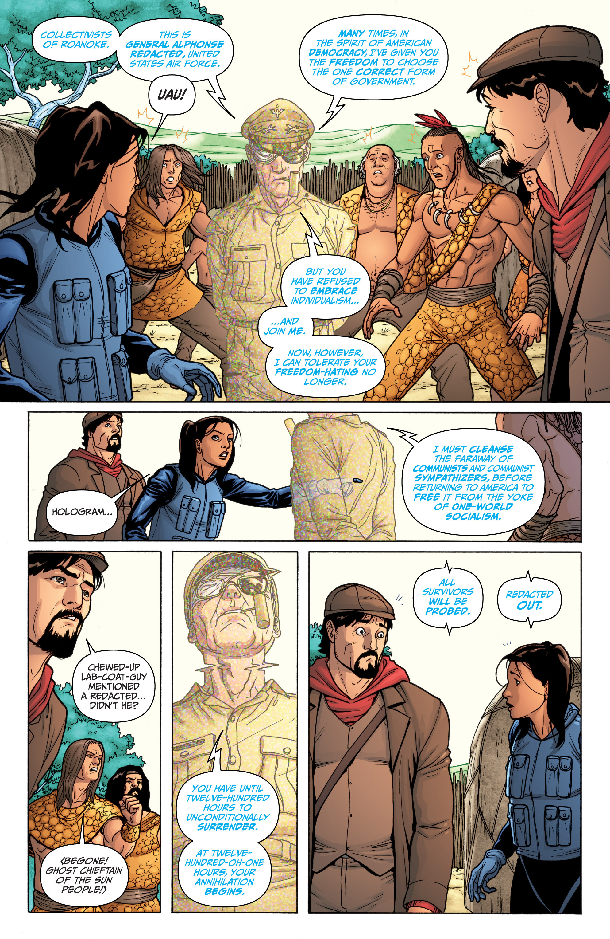 Read online Archer and Armstrong comic -  Issue #11 - 21
