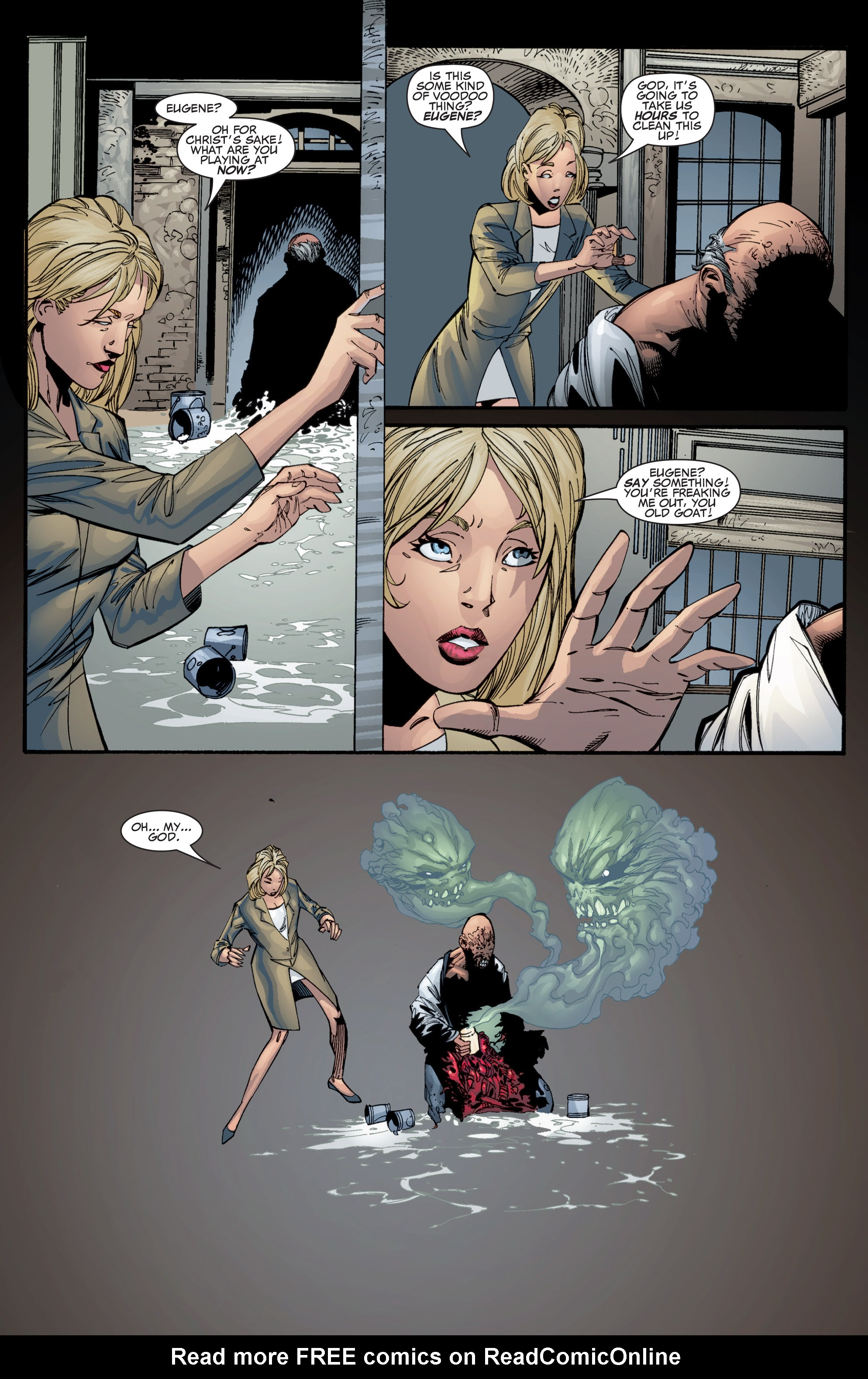 Read online Shadowman (1999) comic -  Issue #1 - 29