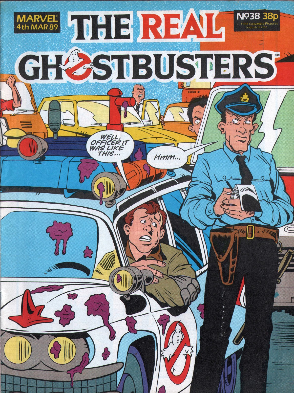 The Real Ghostbusters 38 Page 1