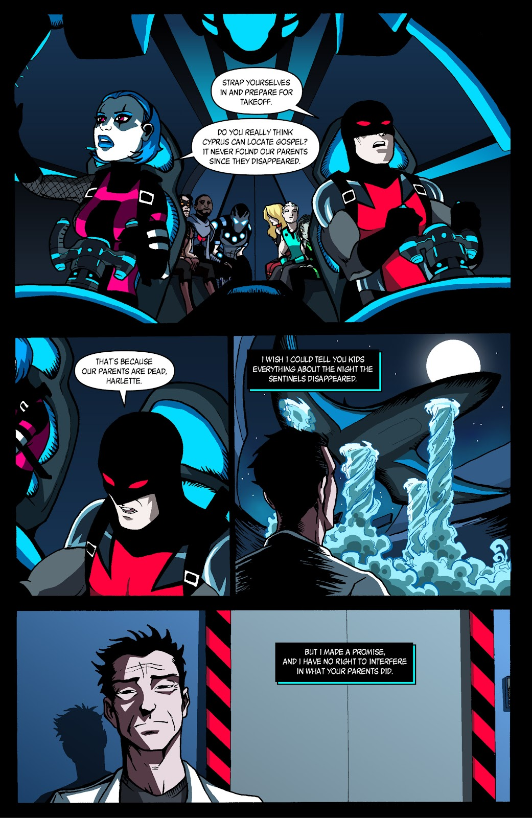 Sentinels issue 4 - Page 21