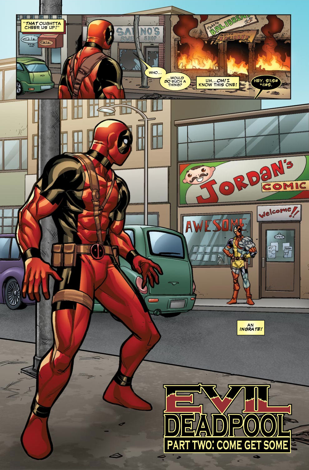 Read online Deadpool (2008) comic -  Issue #46 - 5