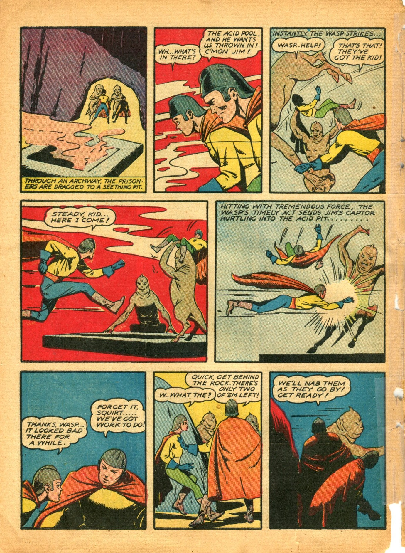 Read online Shadow Comics comic -  Issue #12 - 56
