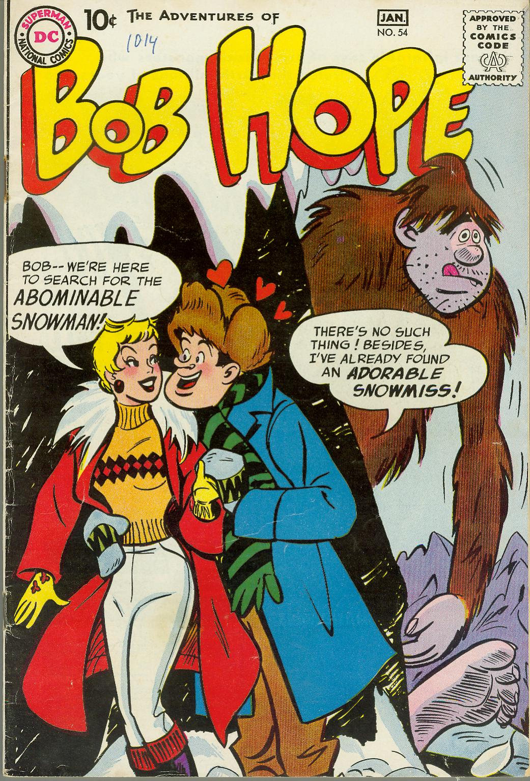 The Adventures of Bob Hope issue 54 - Page 1