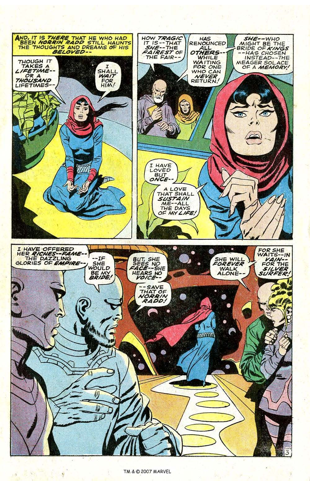 Read online Silver Surfer (1968) comic -  Issue #6 - 5