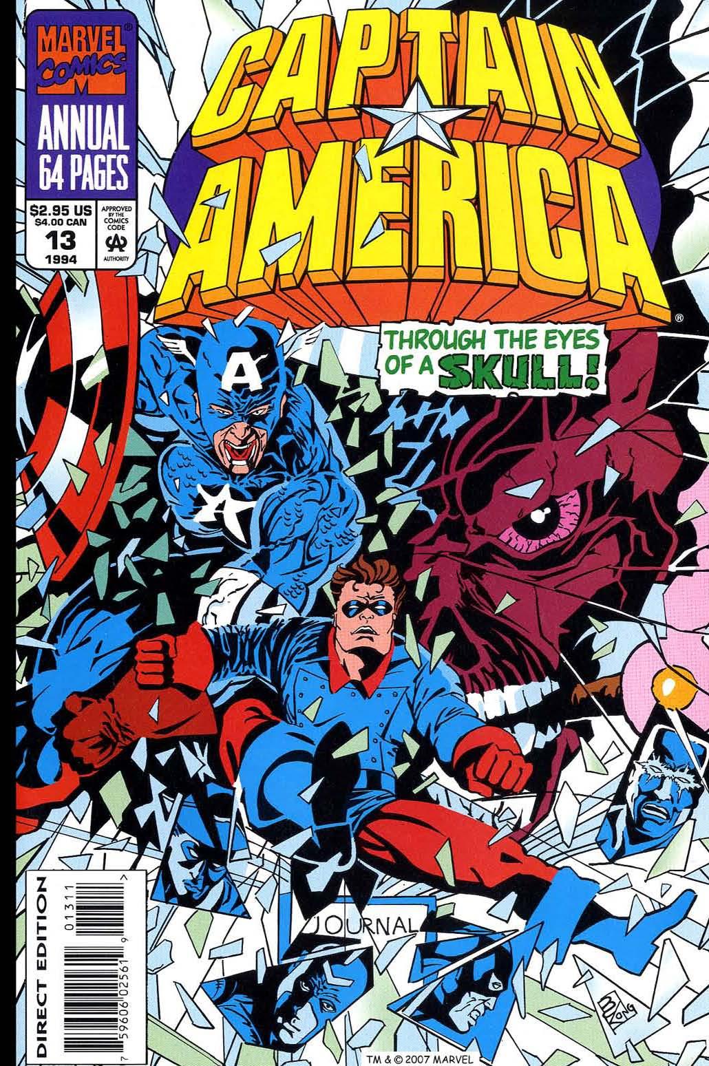 Read online Captain America (1968) comic -  Issue # _Annual 13 - 1