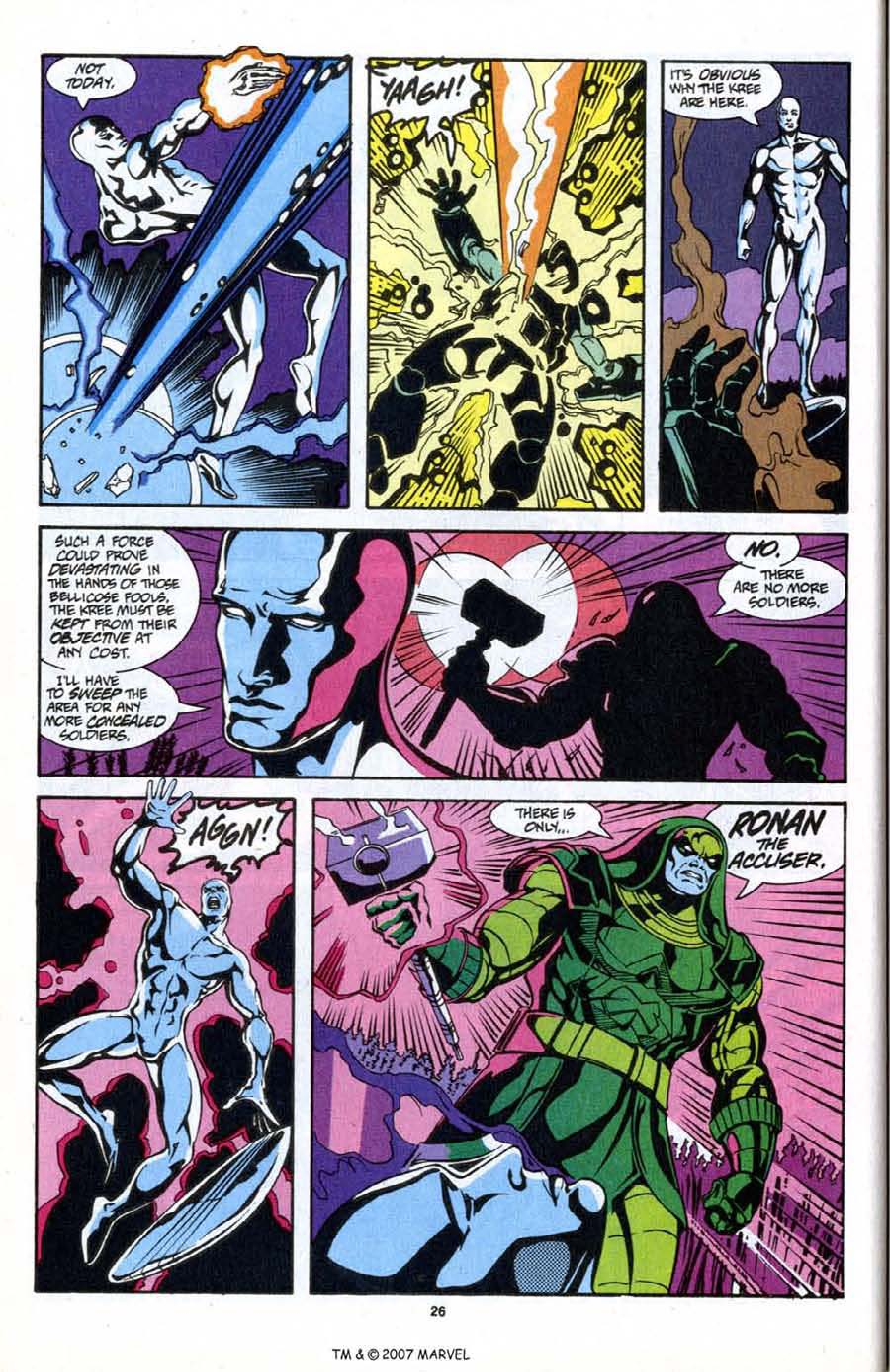 Read online Silver Surfer (1987) comic -  Issue # _Annual 6 - 28