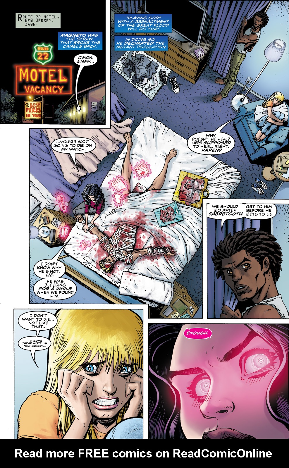 Read online Ultimate X comic -  Issue #5 - 7