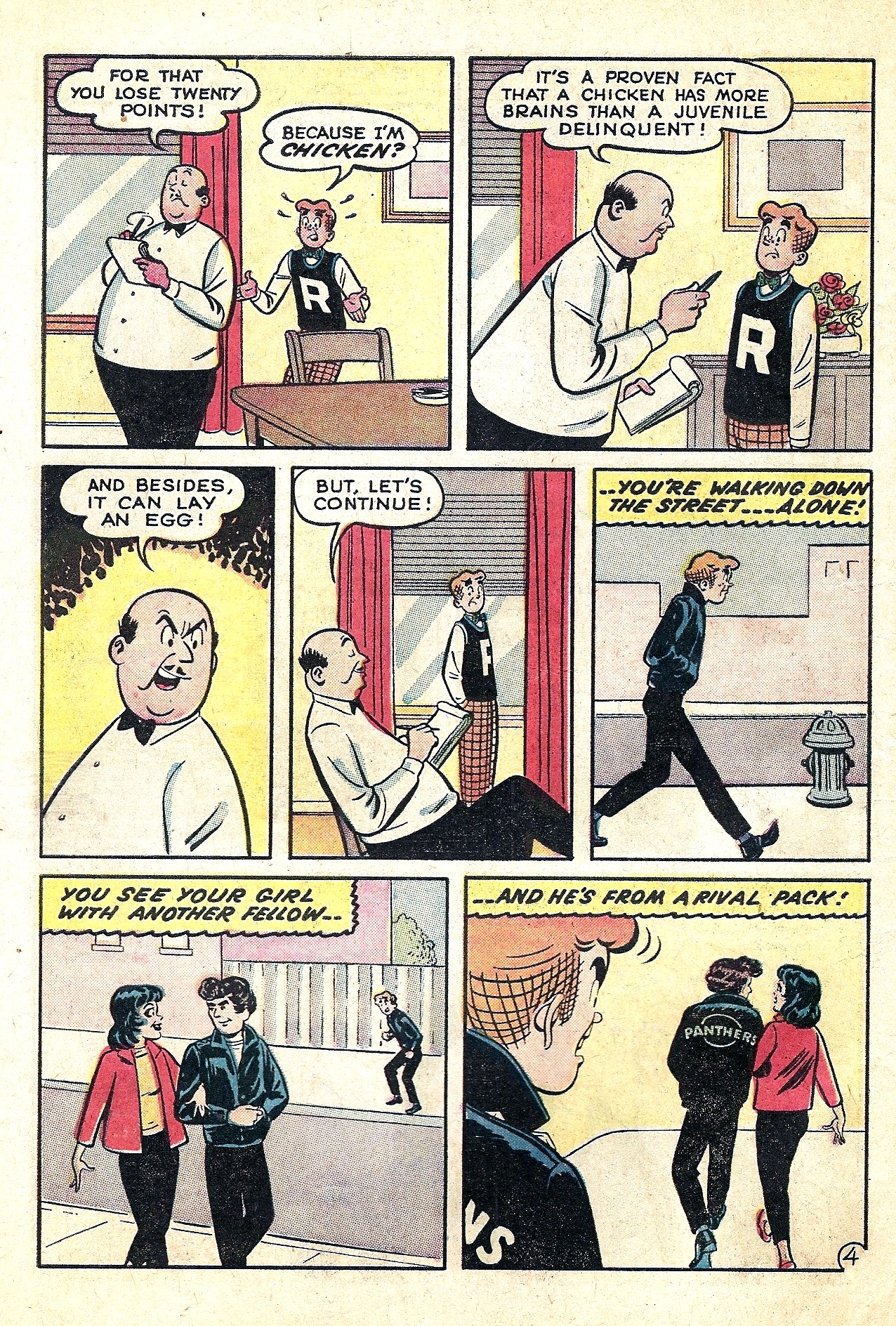 Read online Archie (1960) comic -  Issue #130 - 6