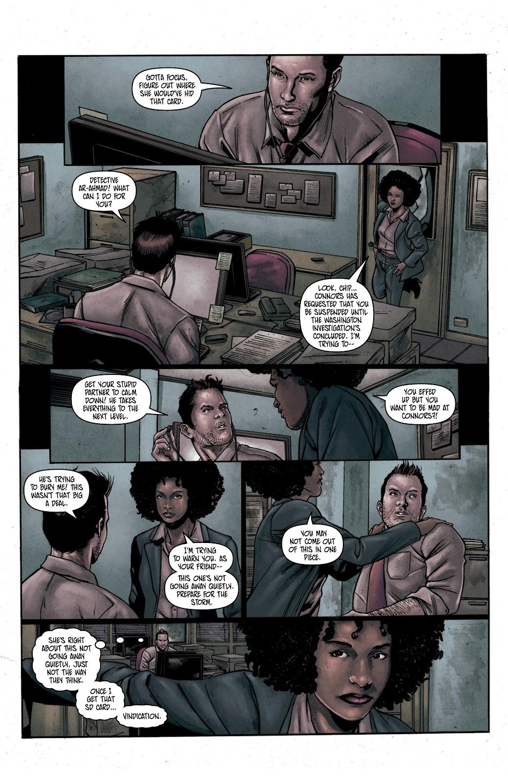 Read online Vindication comic -  Issue #2 - 6