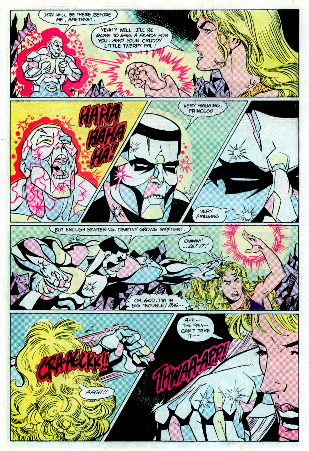 Read online Amethyst (1985) comic -  Issue # _Special 1 - 12
