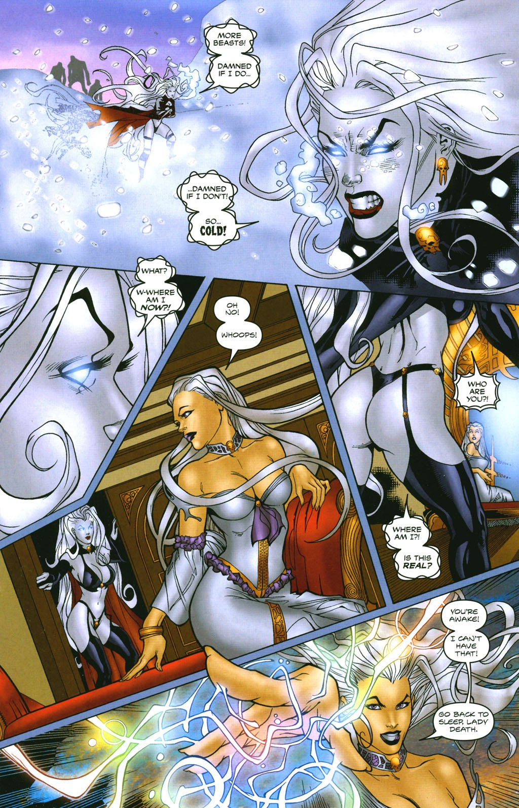 Read online Lady Death: The Wicked comic -  Issue #1 - 21