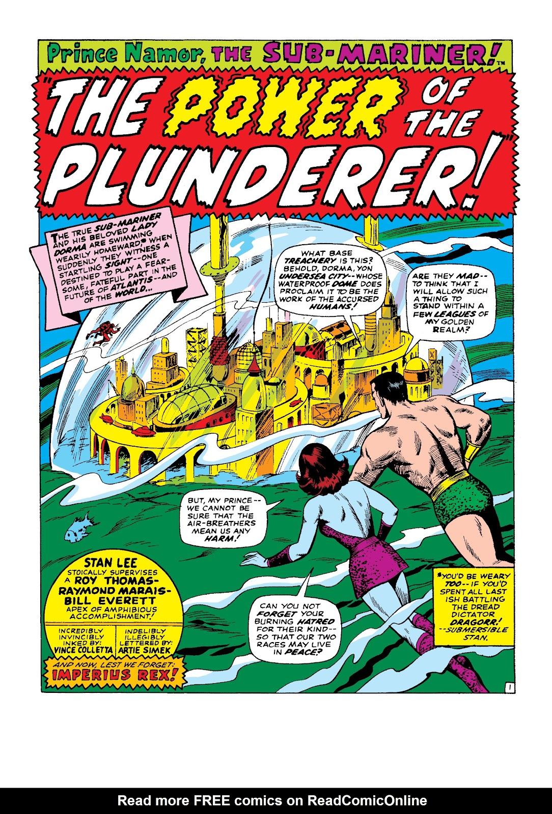 Marvel Masterworks: The Sub-Mariner TPB_2_(Part_2) Page 1