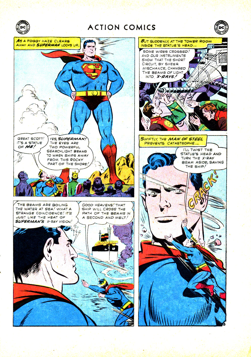 Read online Action Comics (1938) comic -  Issue #246 - 7