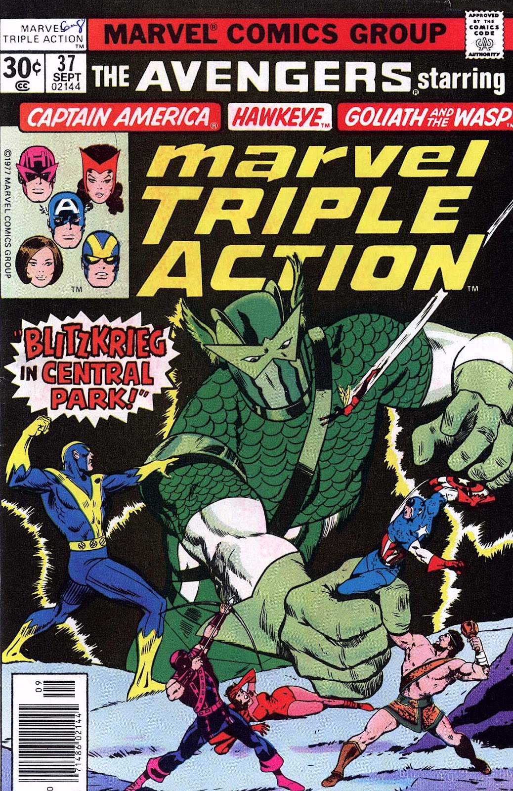 Marvel Triple Action (1972) issue 37 - Page 1