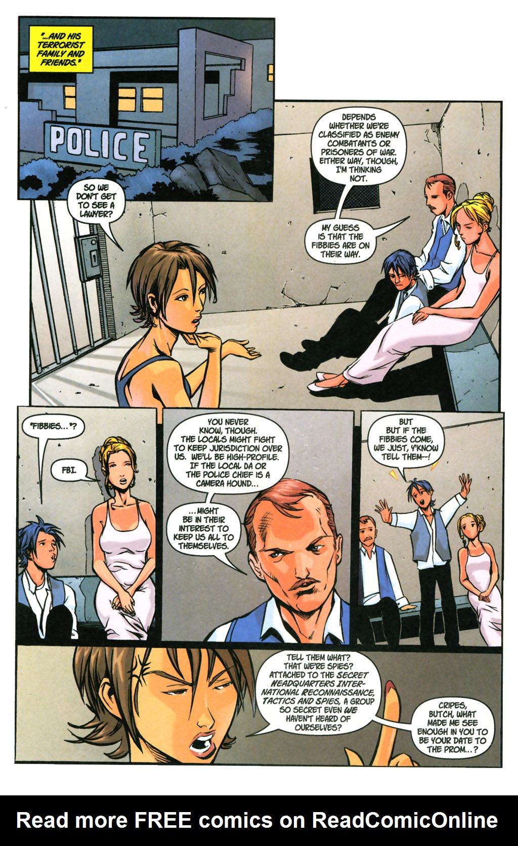 Read online SpyBoy: Final Exam comic -  Issue #3 - 20