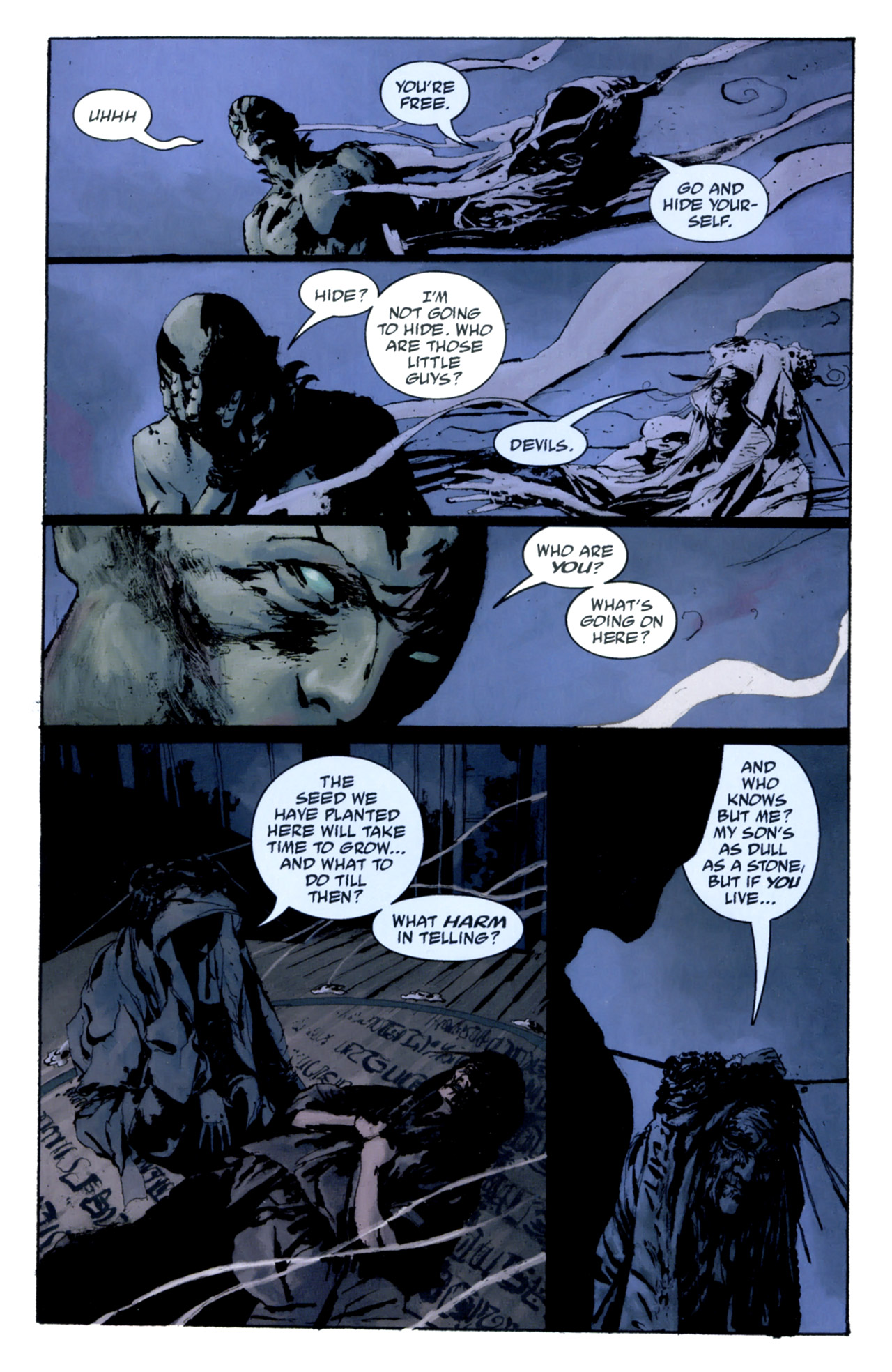 Read online Abe Sapien: The Drowning comic -  Issue #4 - 10