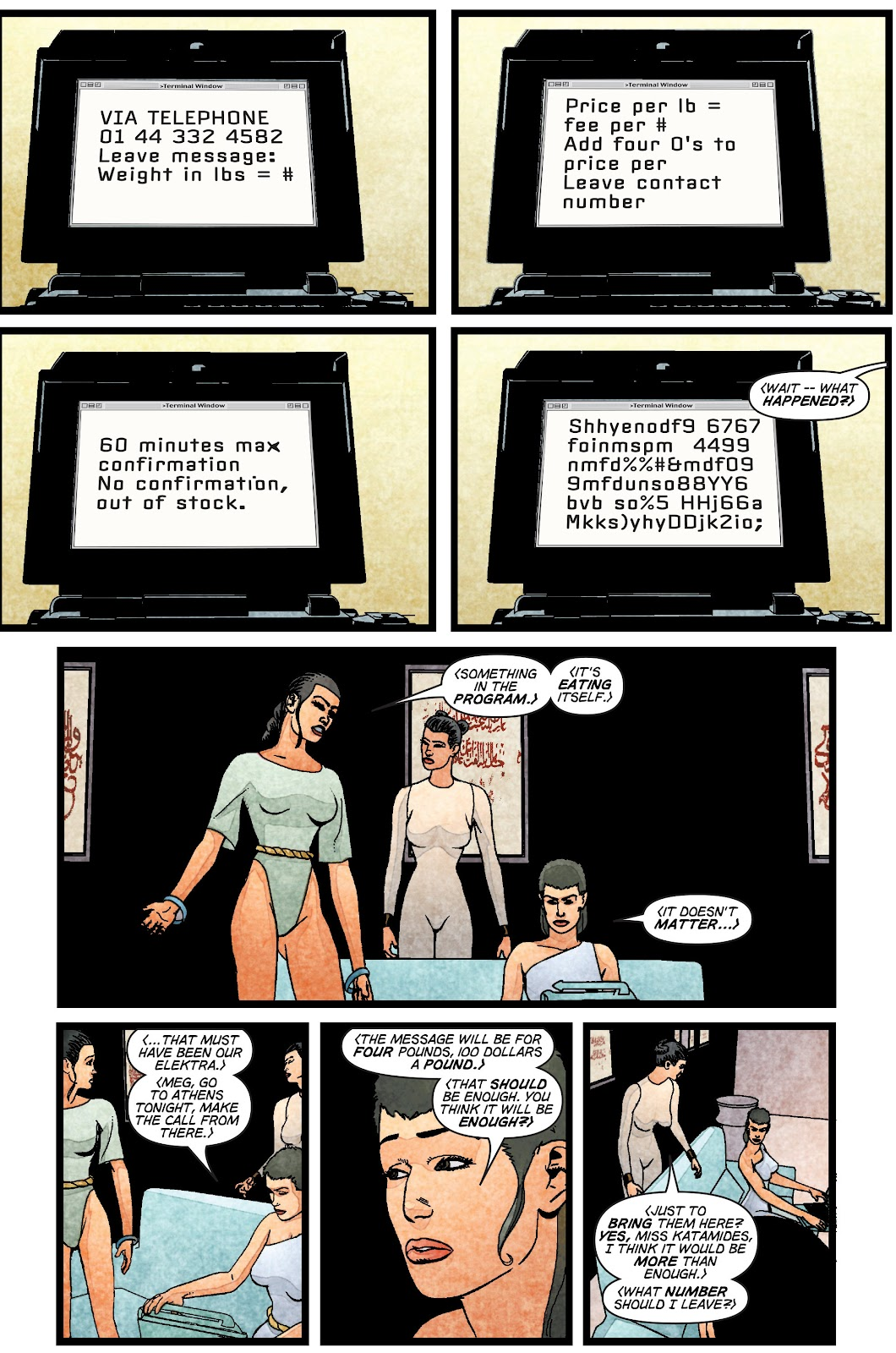 Read online Elektra (2001) comic -  Issue # _TPB Elektra by Greg Rucka Ultimate Collection (Part 1) - 18
