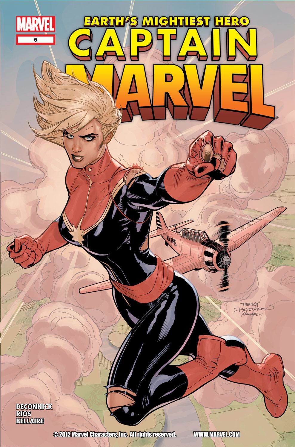 Captain Marvel (2012) issue 5 - Page 1