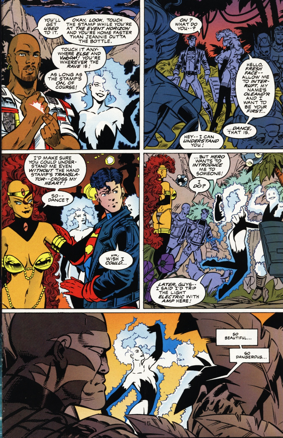 Read online Superboy & The Ravers comic -  Issue #1 - 16