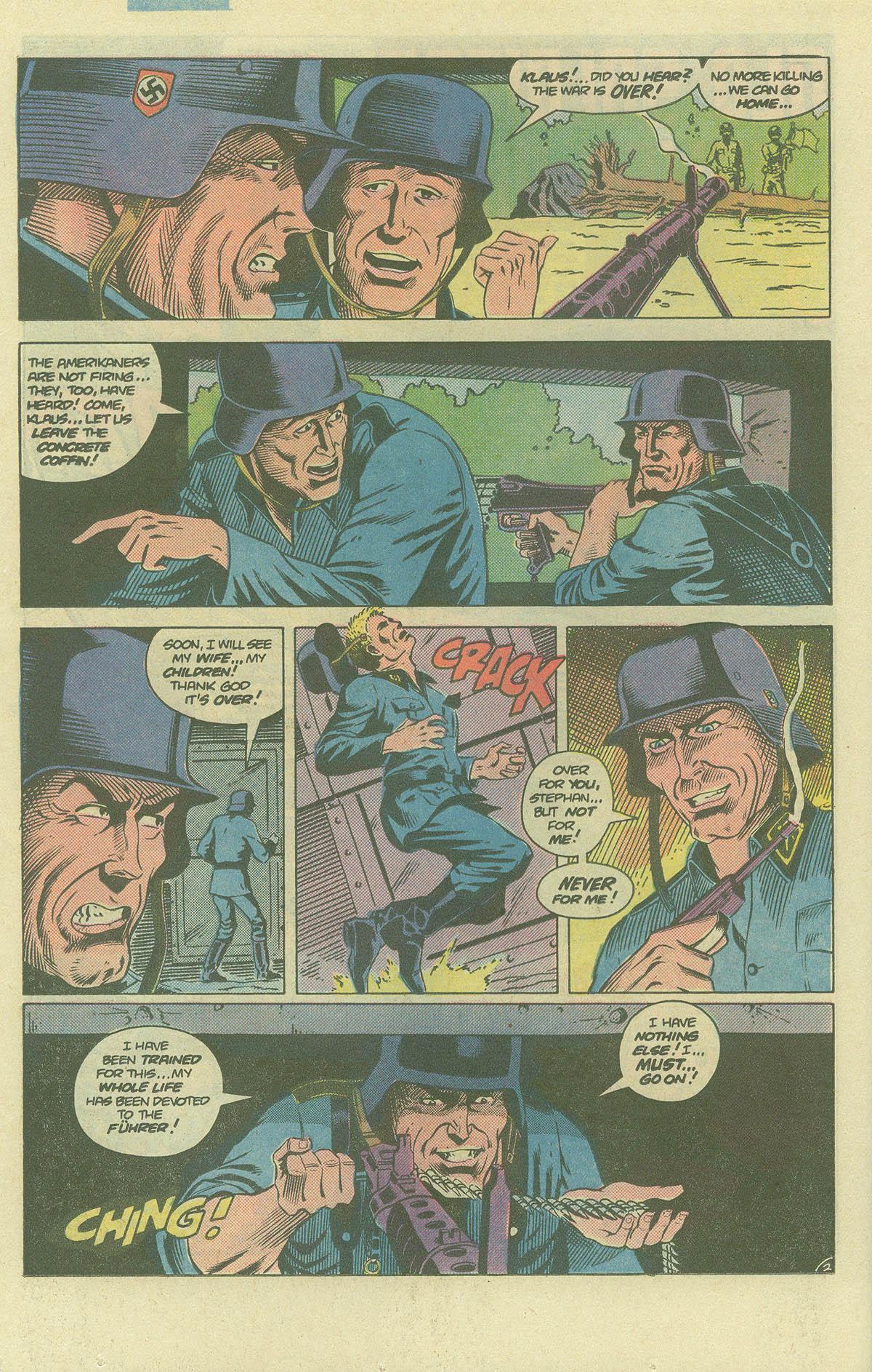 Read online Sgt. Rock comic -  Issue #393 - 17