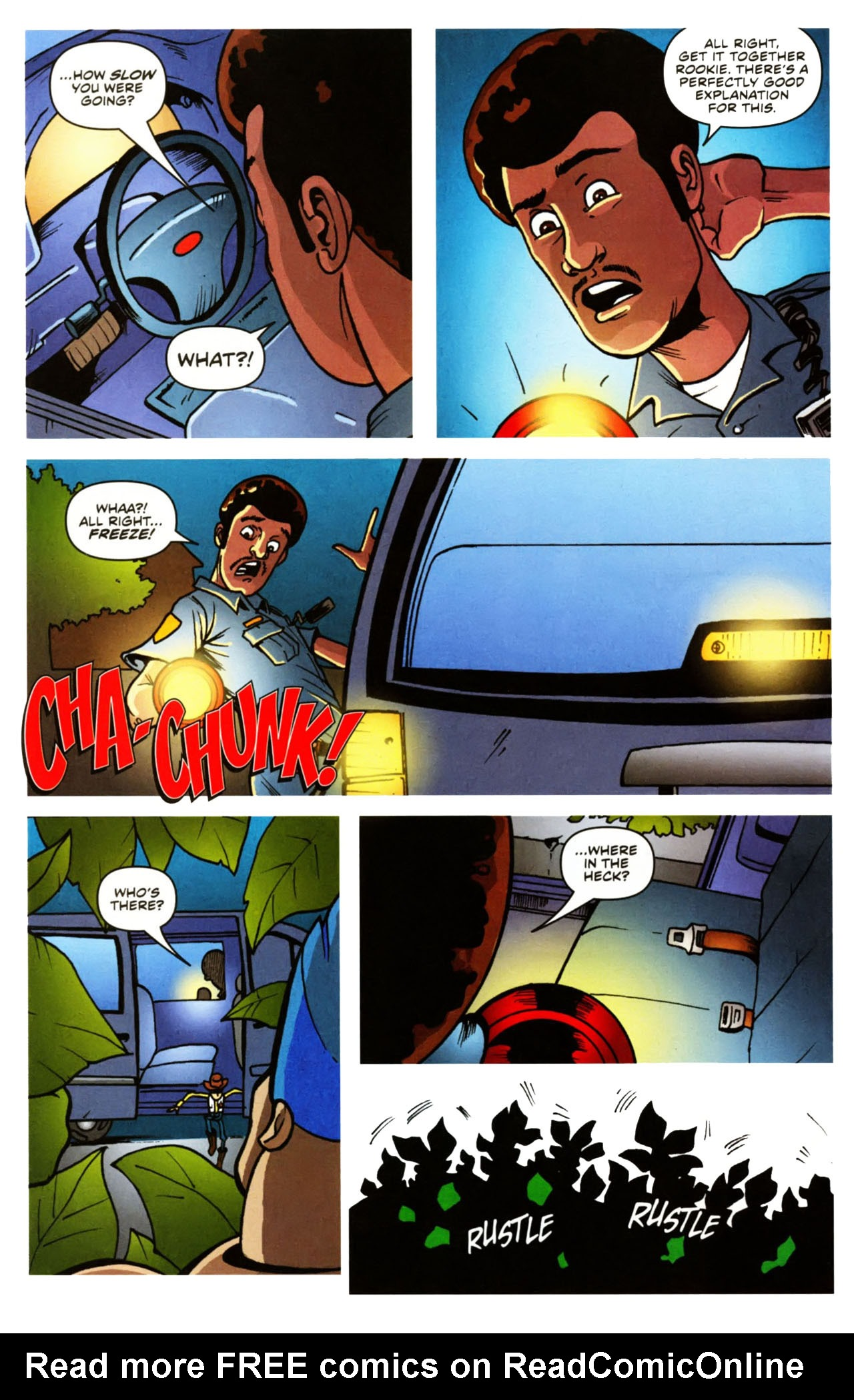 Read online Toy Story (2009) comic -  Issue #1 - 16