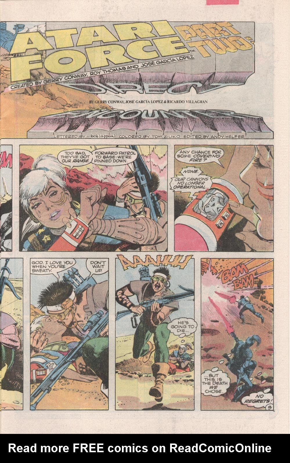 Read online Atari Force (1984) comic -  Issue #2 - 5