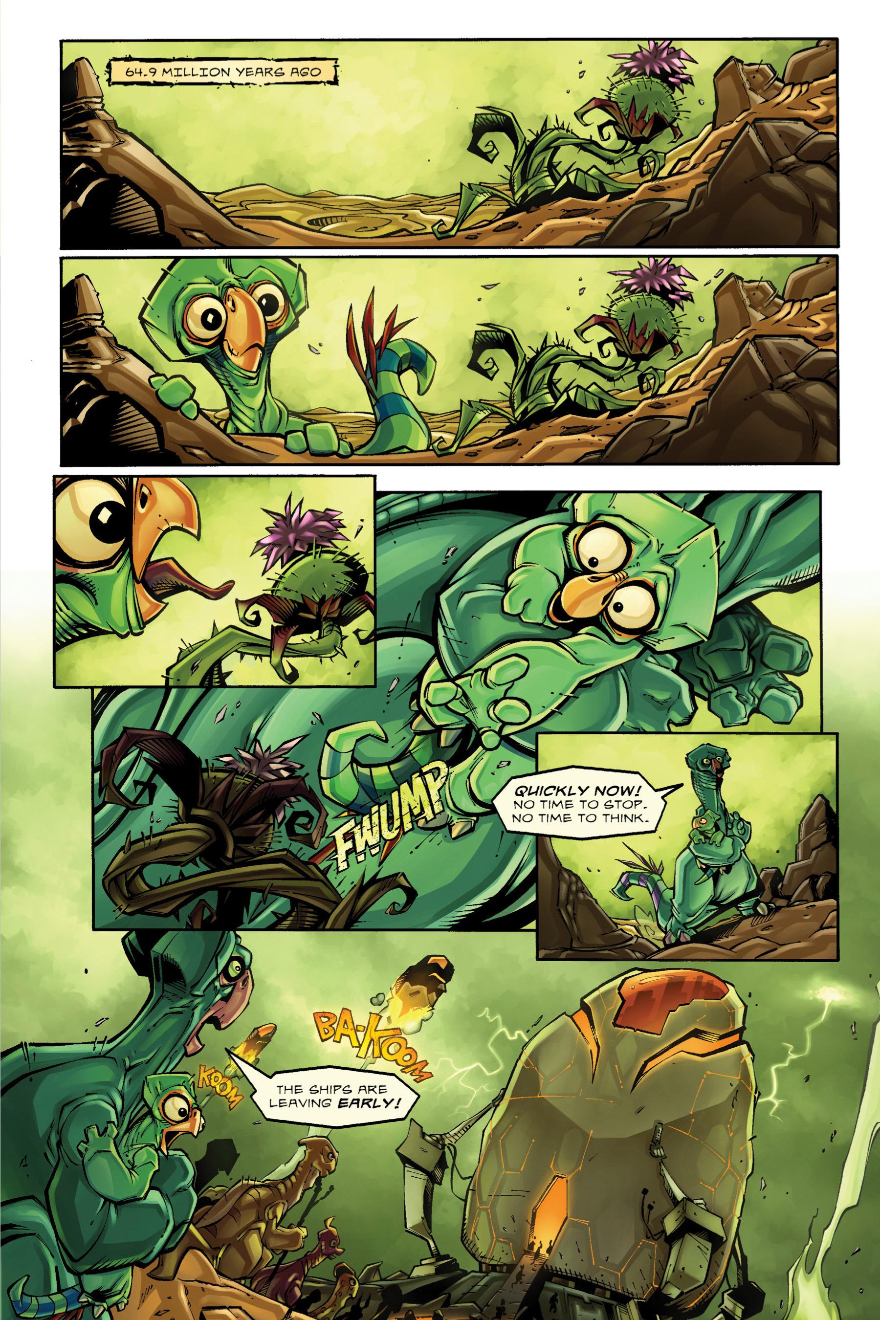 Read online Rexodus comic -  Issue # Full - 9