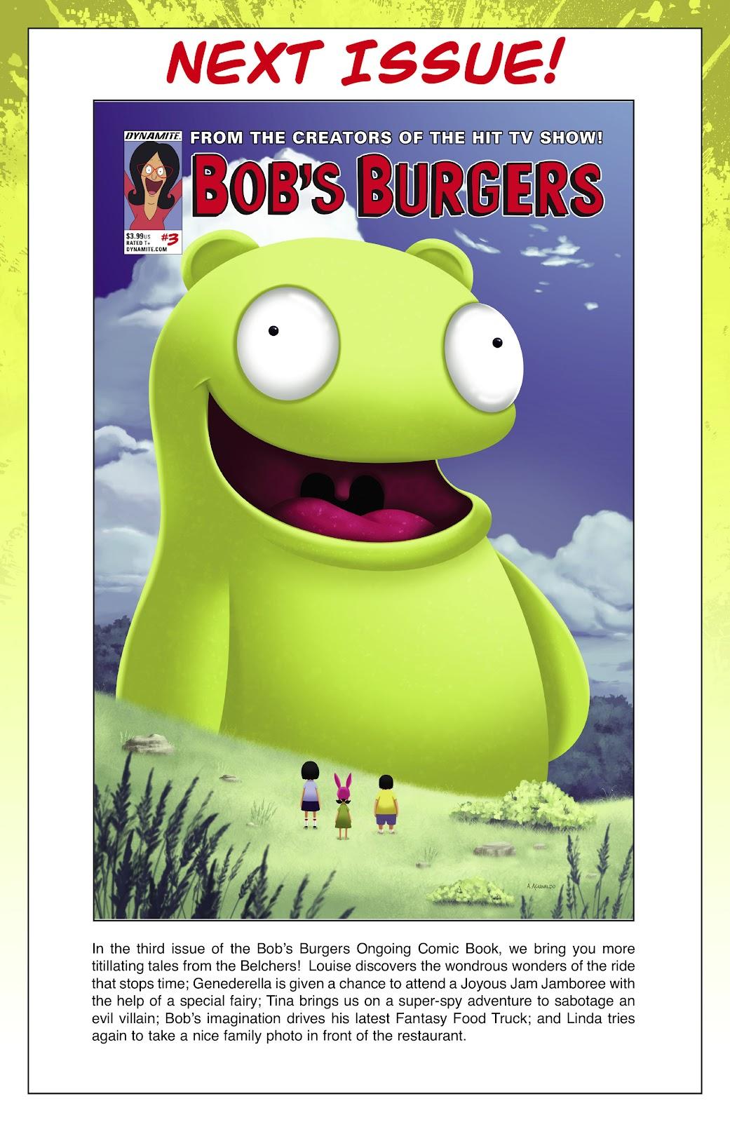 Bob's Burgers (2015) Issue #2 #2 - English 27