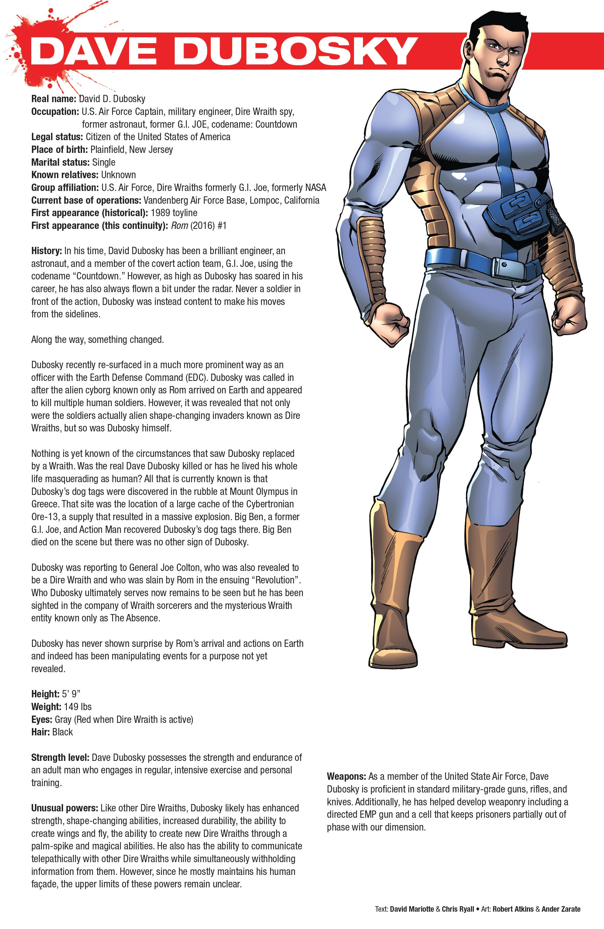Read online Hasbro Heroes Sourcebook comic -  Issue #1 - 36