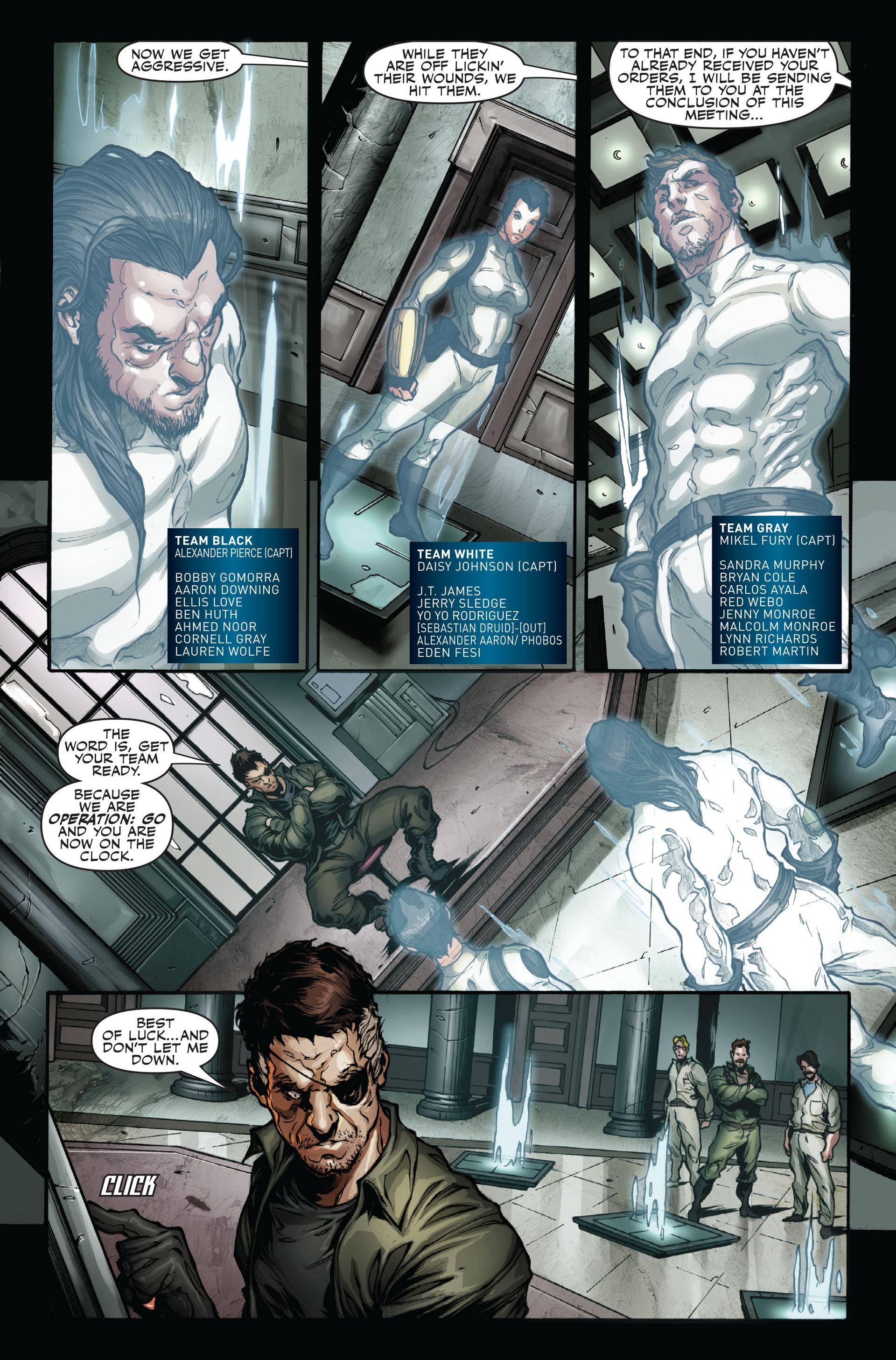 Read online Secret Warriors comic -  Issue #16 - 17