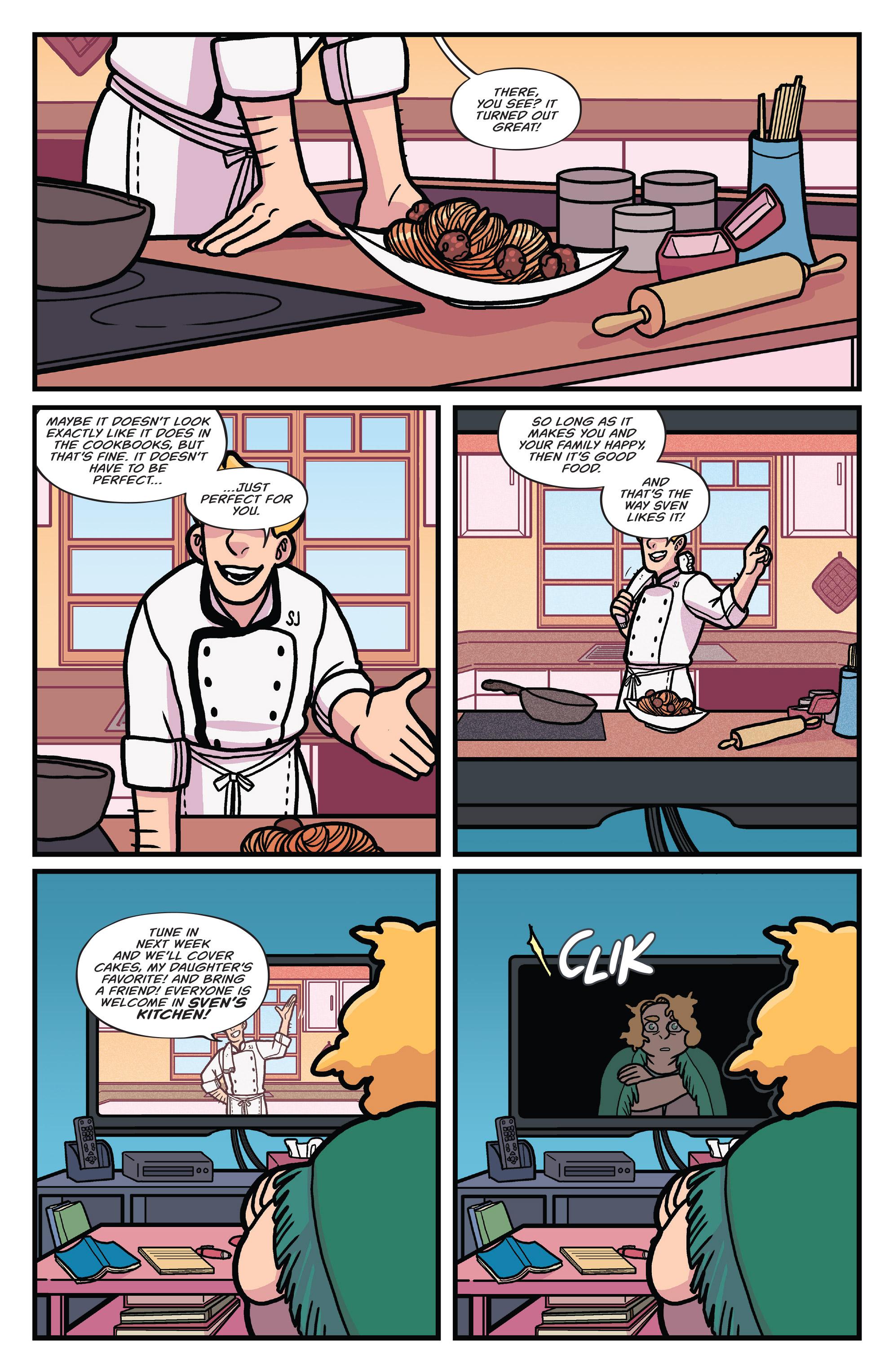 Read online Brave Chef Brianna comic -  Issue #4 - 3