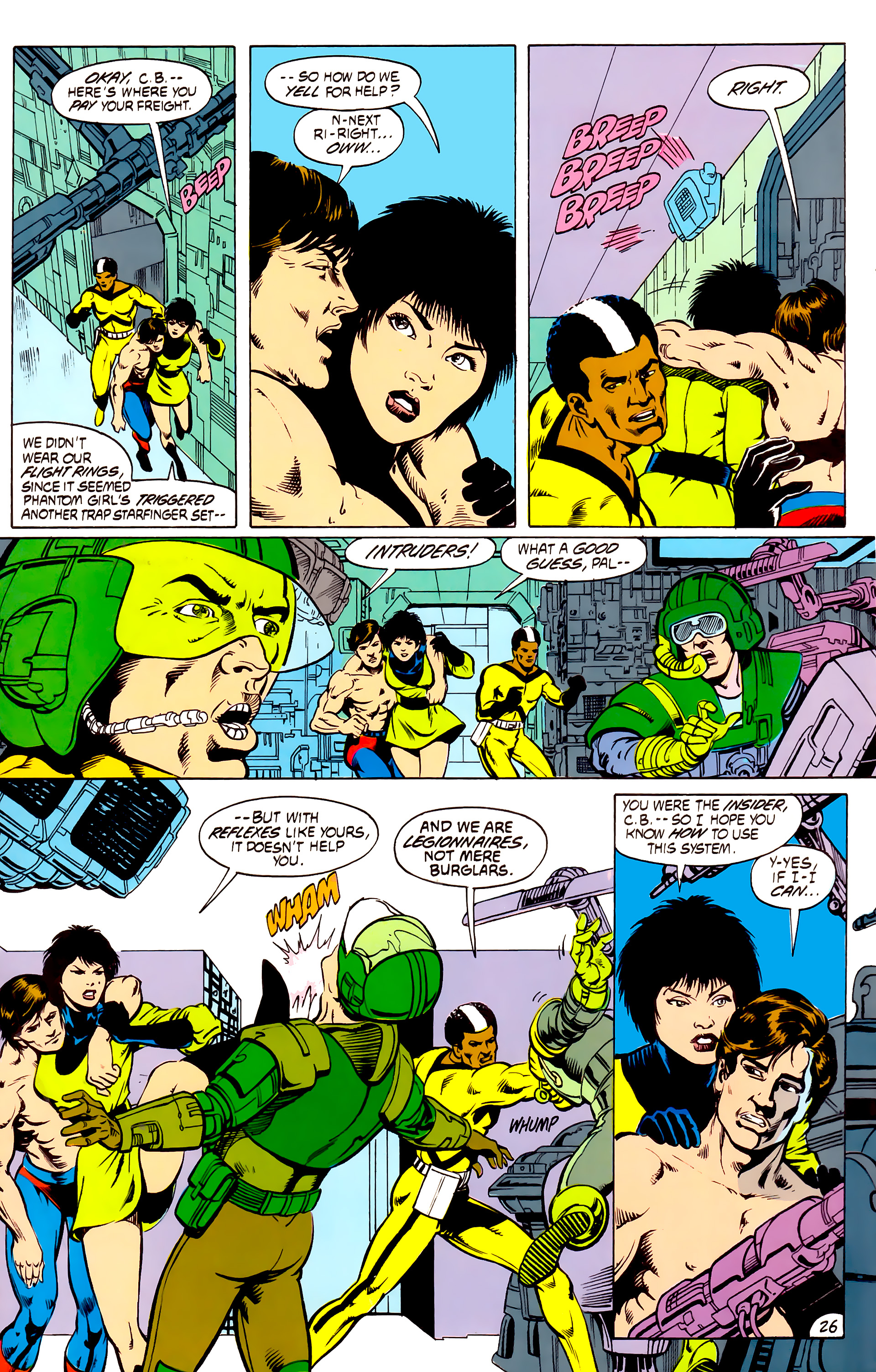 Legion of Super-Heroes (1984) _Annual_4 Page 26