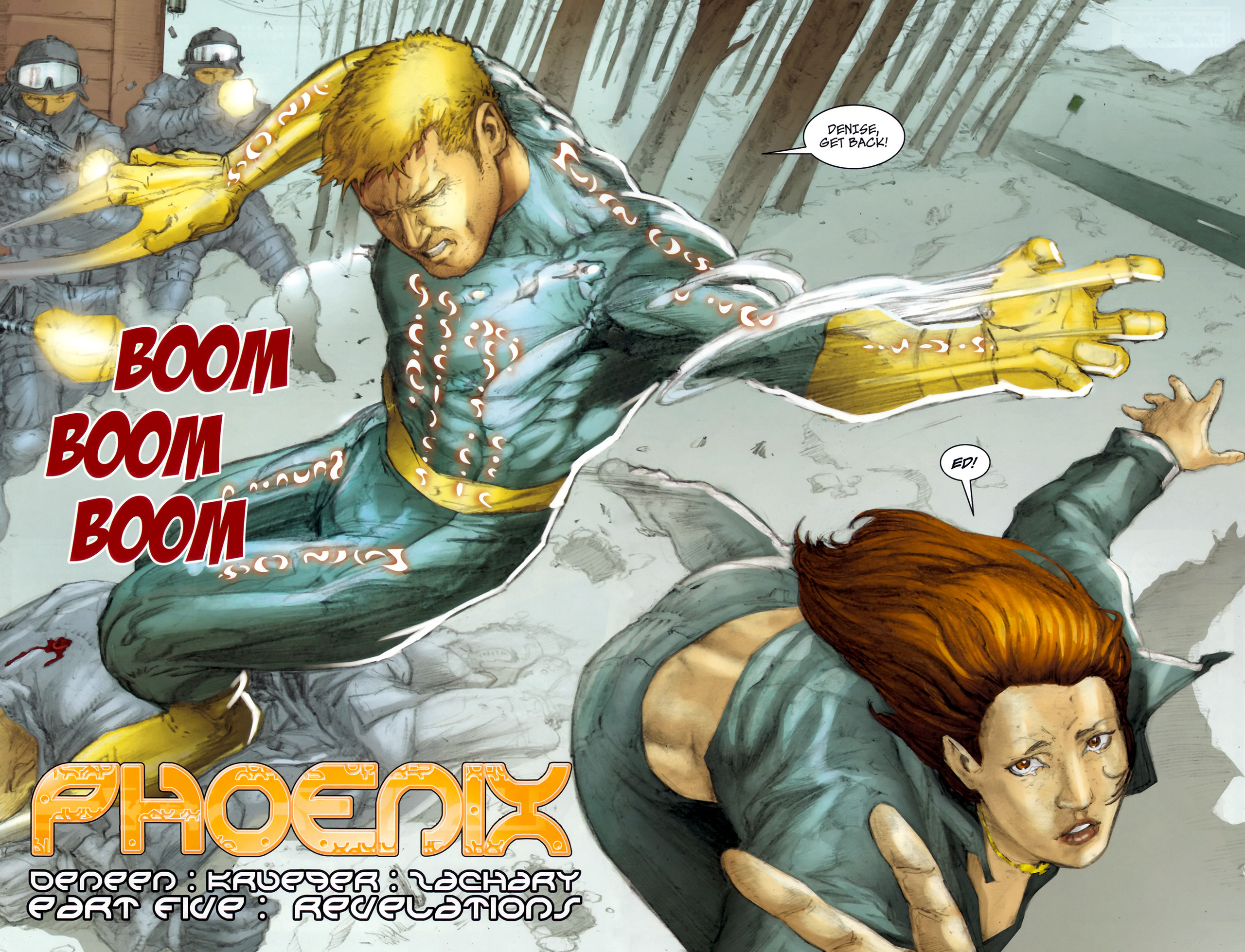 Read online Phoenix comic -  Issue #5 - 4