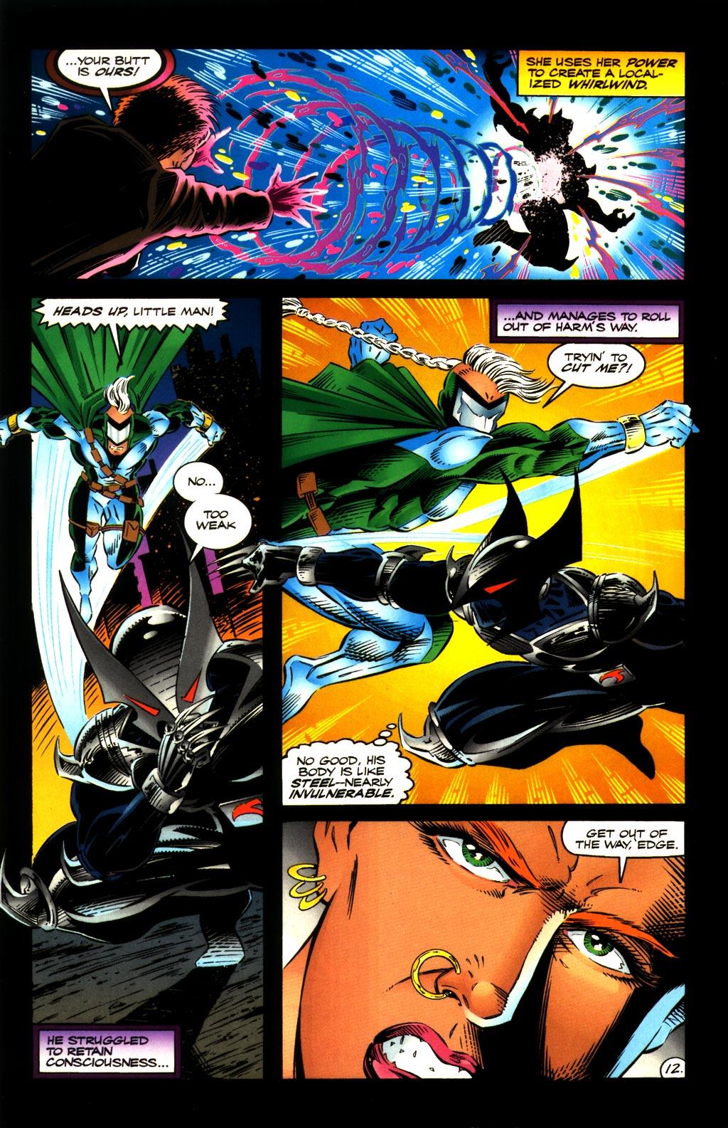 Read online ShadowHawk comic -  Issue #8 - 12