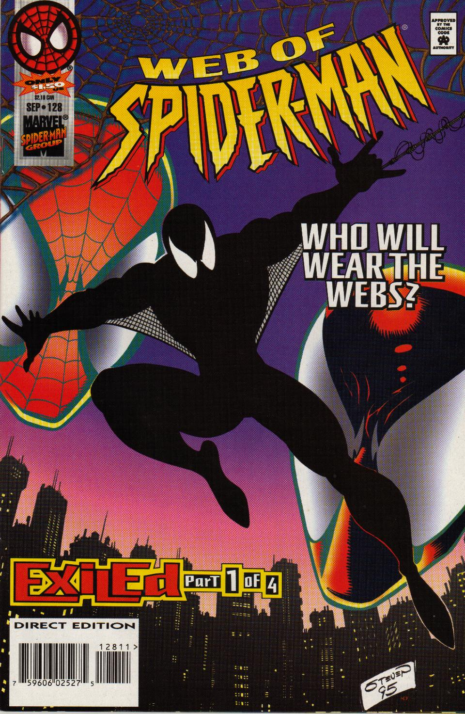 Web of Spider-Man (1985) 128 Page 1