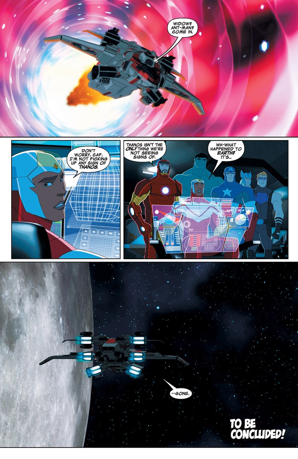 Read online Marvel Universe Avengers Assemble Season 2 comic -  Issue #15 - 28