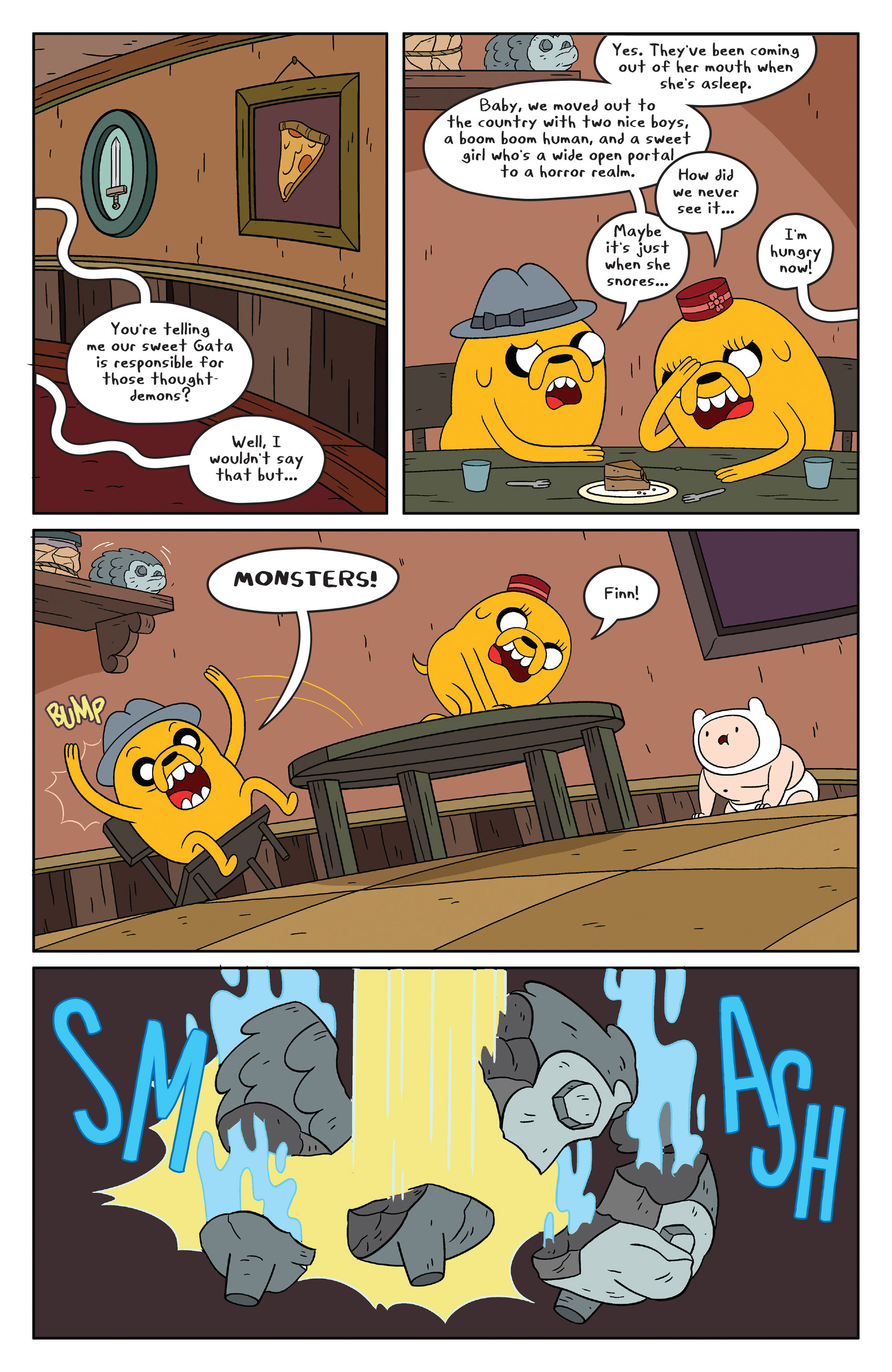 Read online Adventure Time comic -  Issue #48 - 17