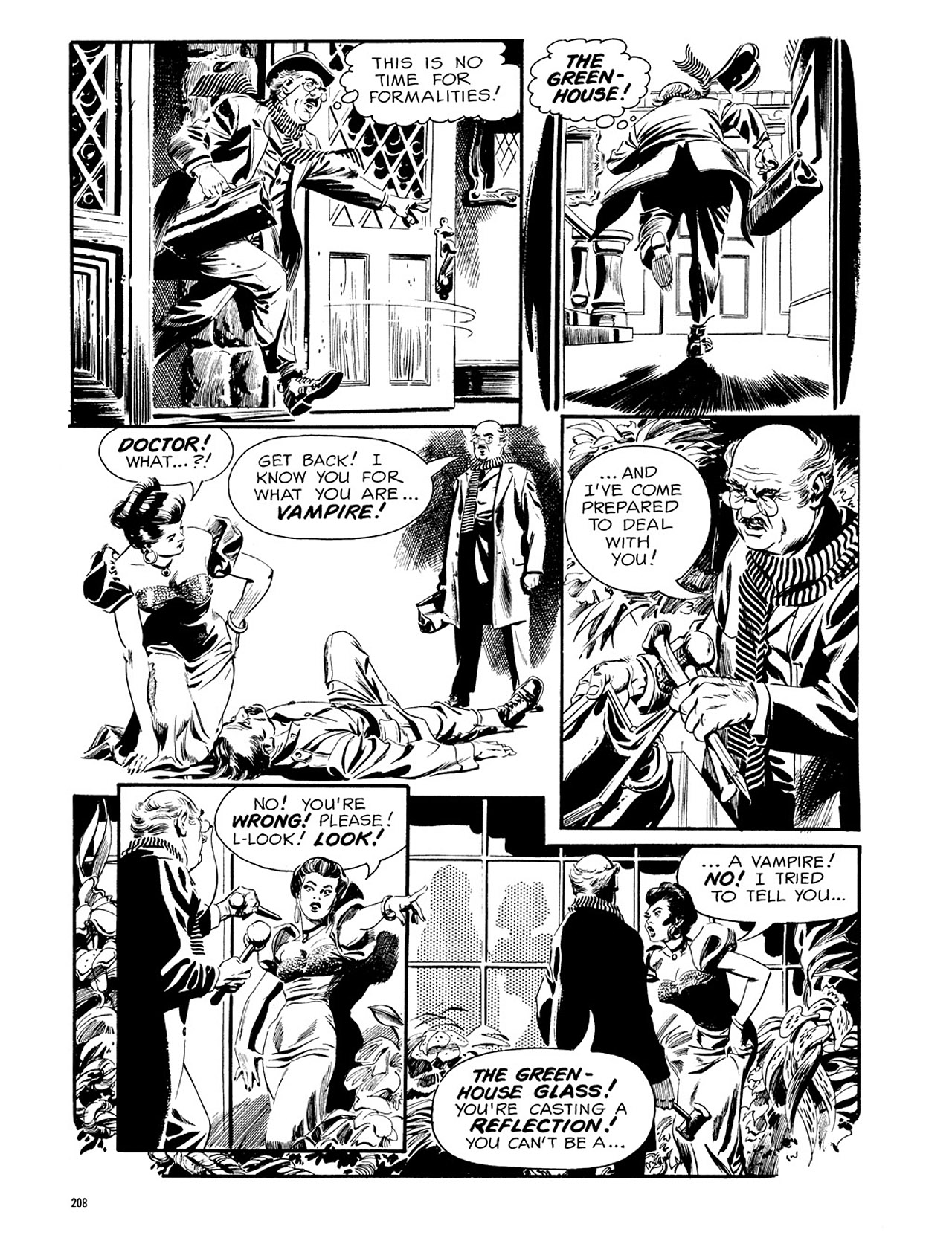 Read online Eerie Archives comic -  Issue # TPB 3 - 209