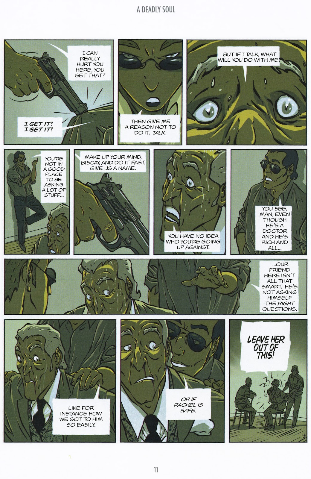 Read online The Killer comic -  Issue #9 - 11