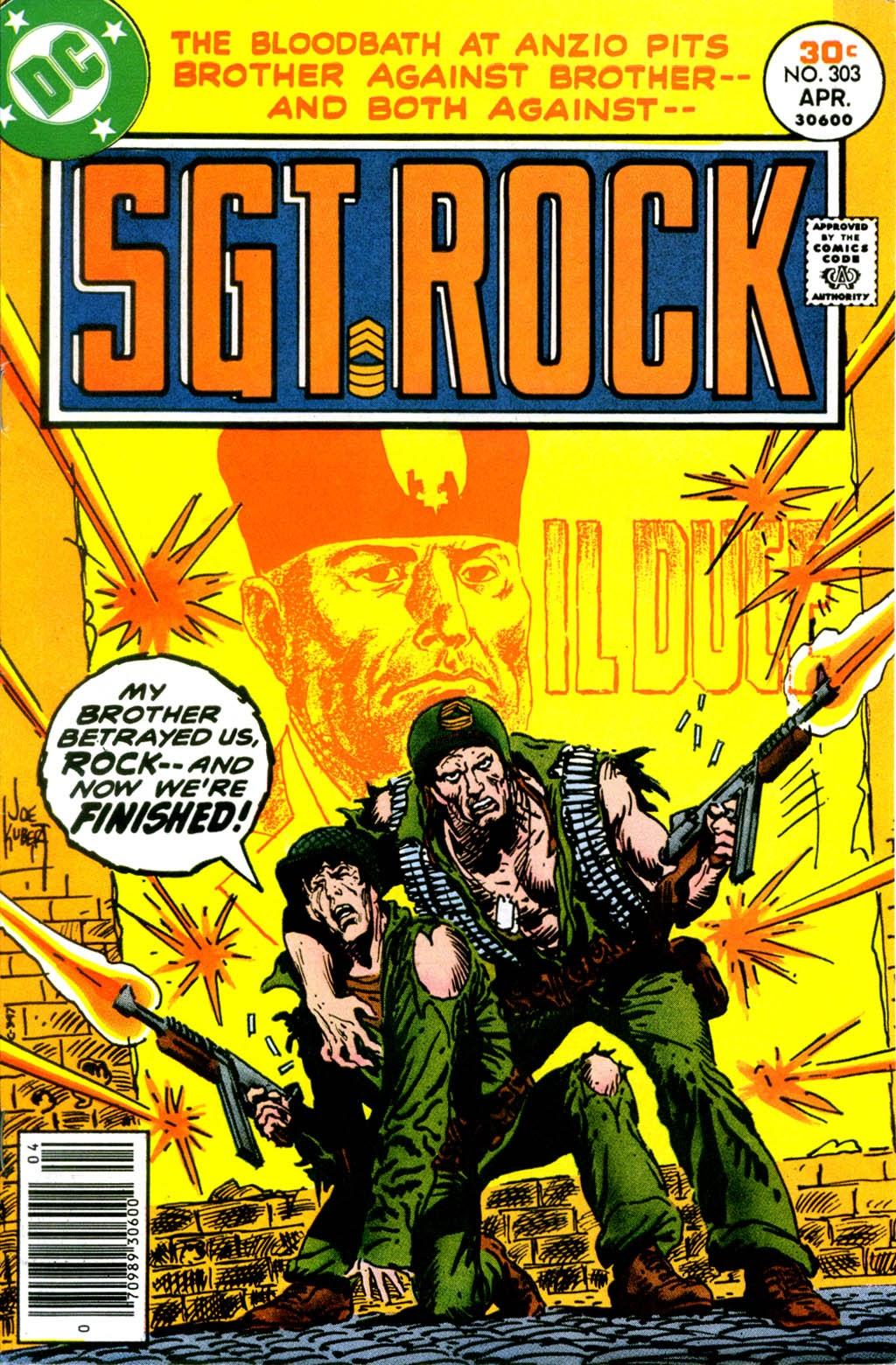 Read online Sgt. Rock comic -  Issue #303 - 1