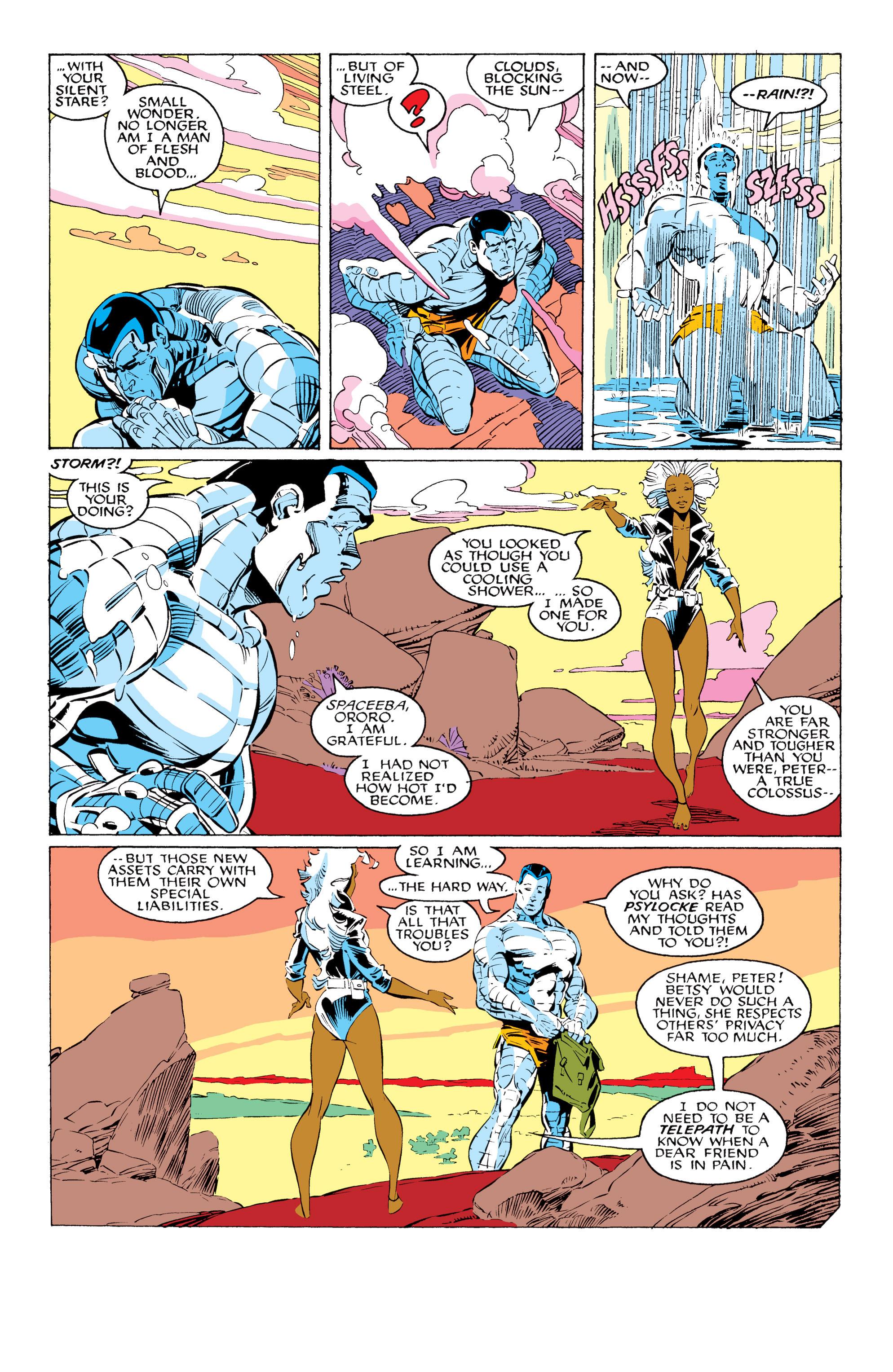 Read online Uncanny X-Men (1963) comic -  Issue #231 - 6