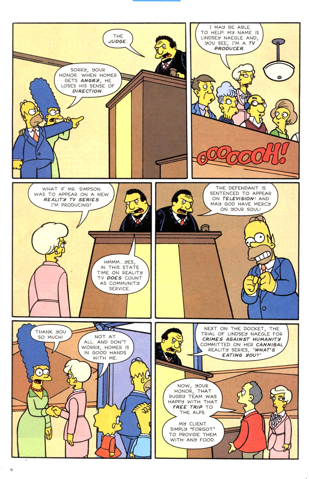 Read online Simpsons Comics comic -  Issue #82 - 5