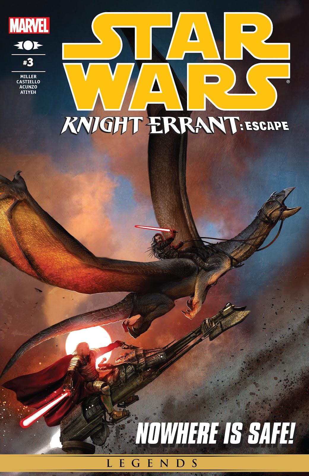 Star Wars: Knight Errant - Escape 3 Page 1