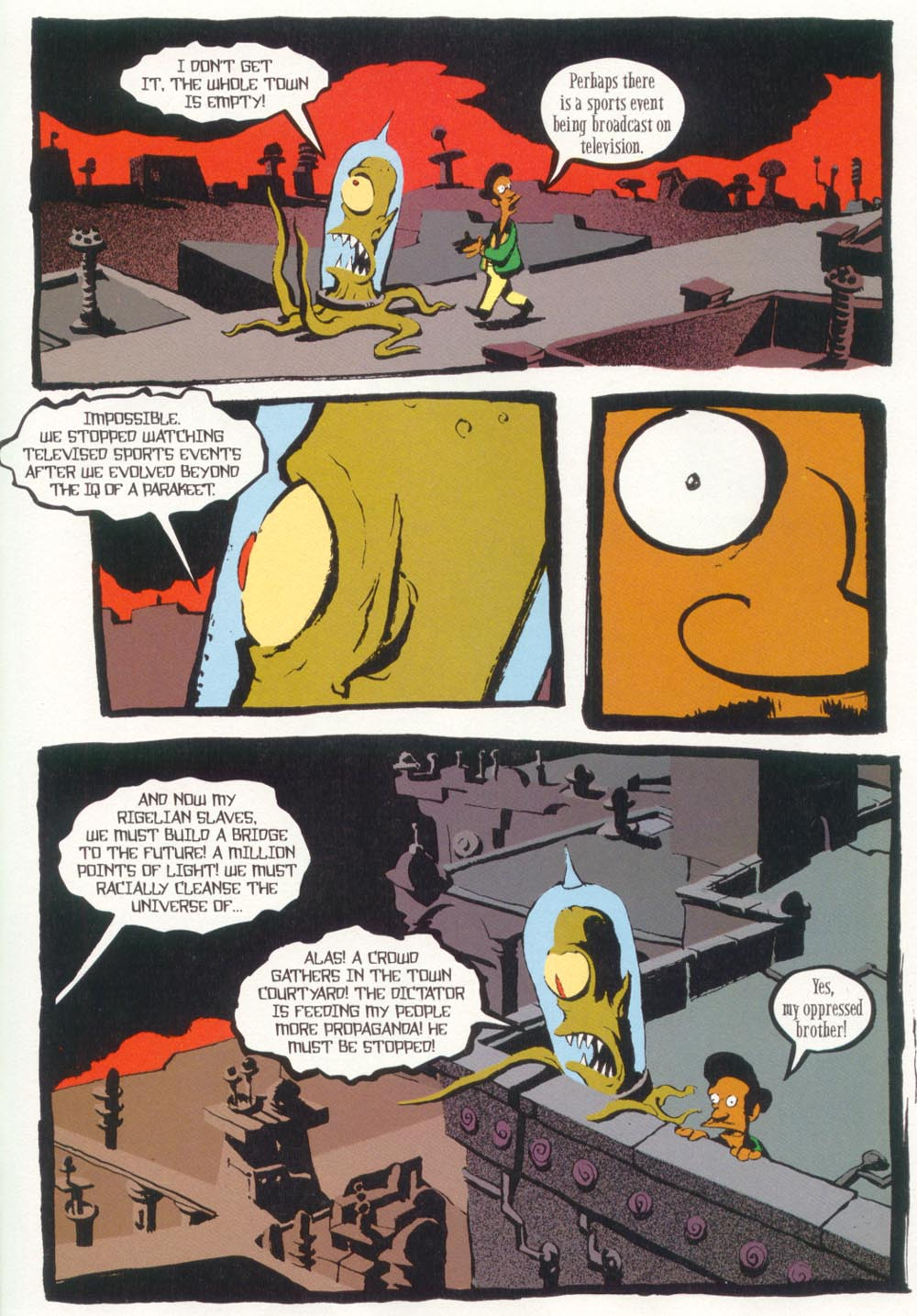 Read online Treehouse of Horror comic -  Issue #5 - 37