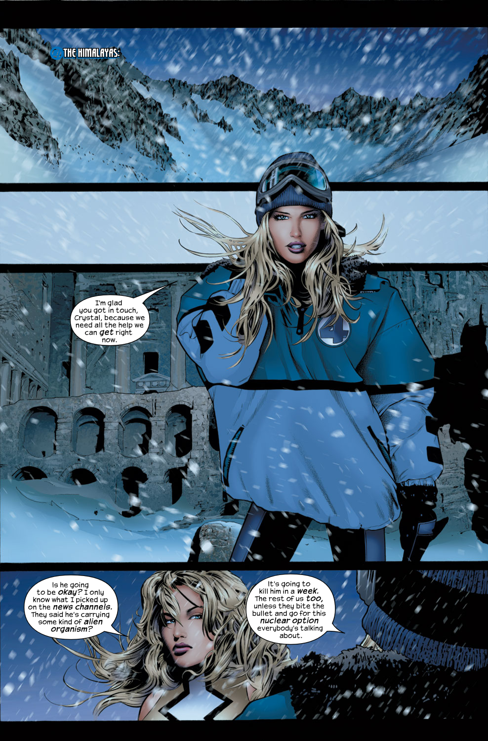 Read online Ultimate Fantastic Four (2004) comic -  Issue #30 - 16