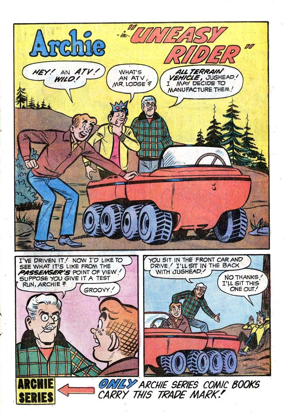 Read online Archie (1960) comic -  Issue #207 - 13